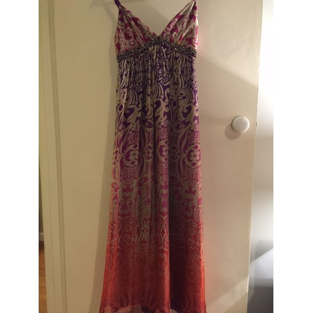 Forever New Silk Maxi Dress - Size 6
