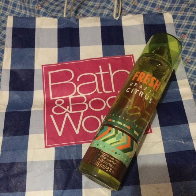 Fragrance Mist Bath And Body Works