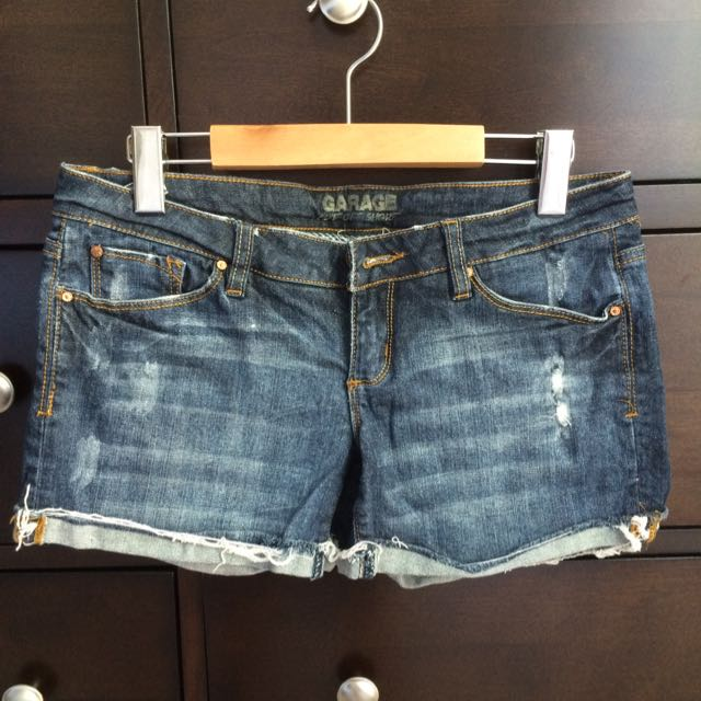 Garage Denim Shorts
