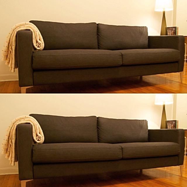 Great Condition Karlstad 3 Seats Sofa