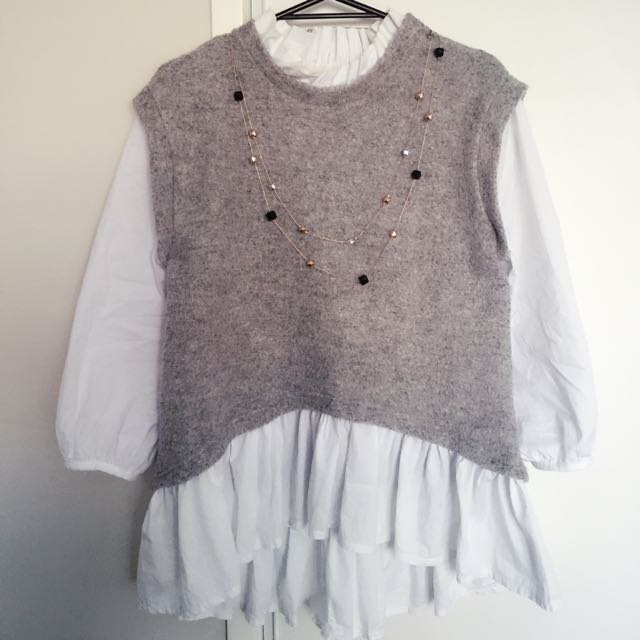 Grey Lady Style Top