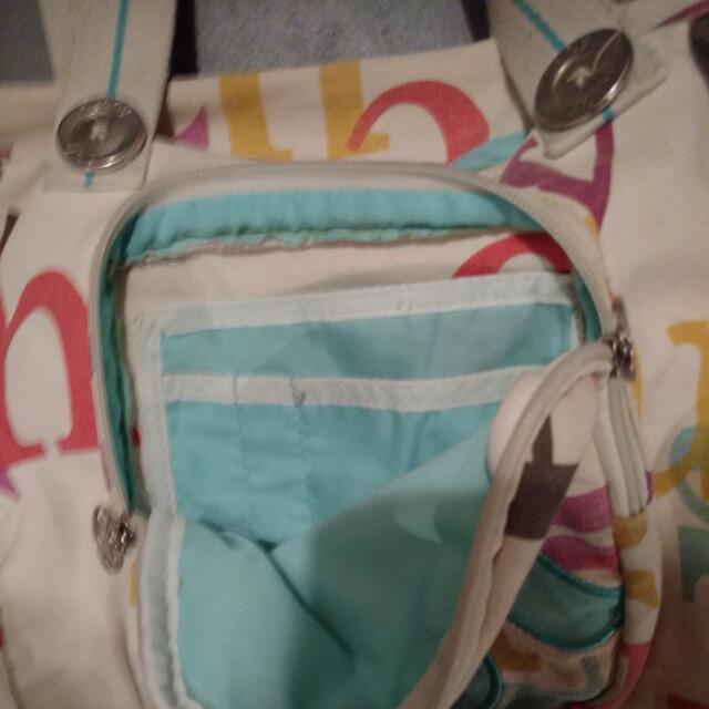 Hurley bag + wallet