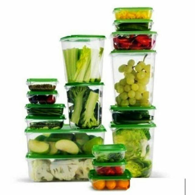 IKEA Pruta 17 Sets of Food Container