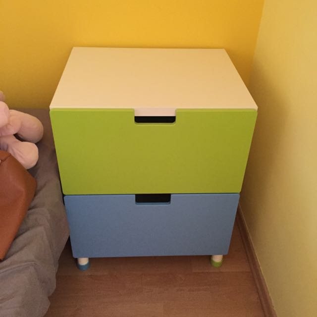(RESERVED) Ikea Stuva Drawers Blue And Green