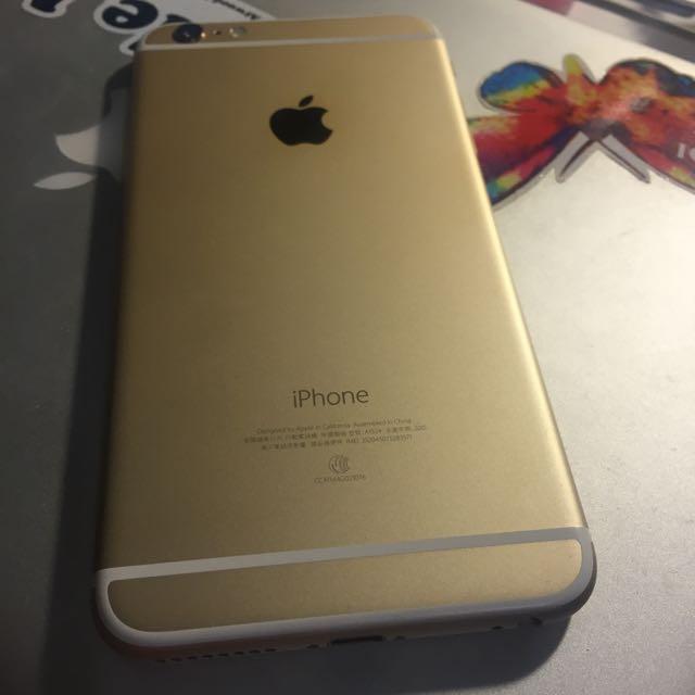 iPhone 6 Plus 64G 金色 台中可面交