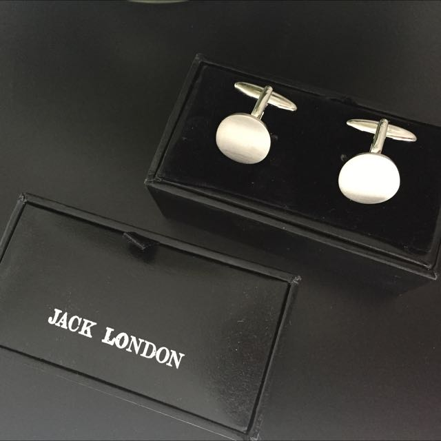 Jack London Cuff Links - 2 Sets Available