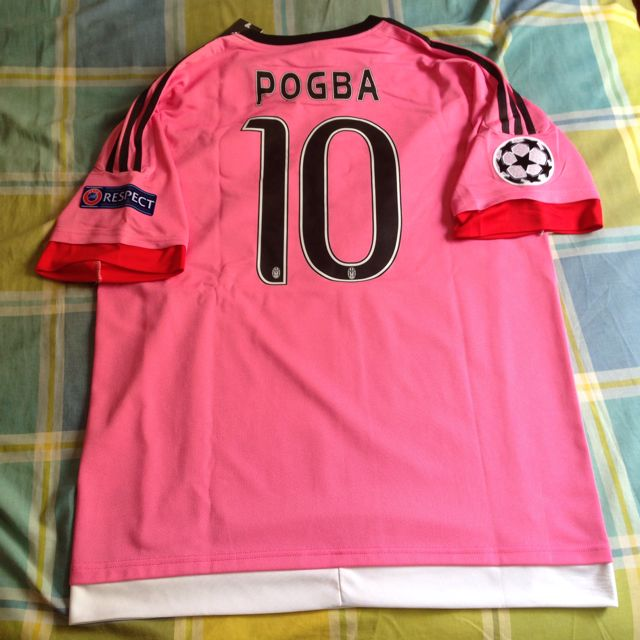 save off f9a5f 57346 Jersey JUVENTUS with POGBA