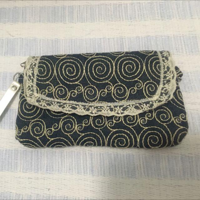 Lace Wallet/Clutch