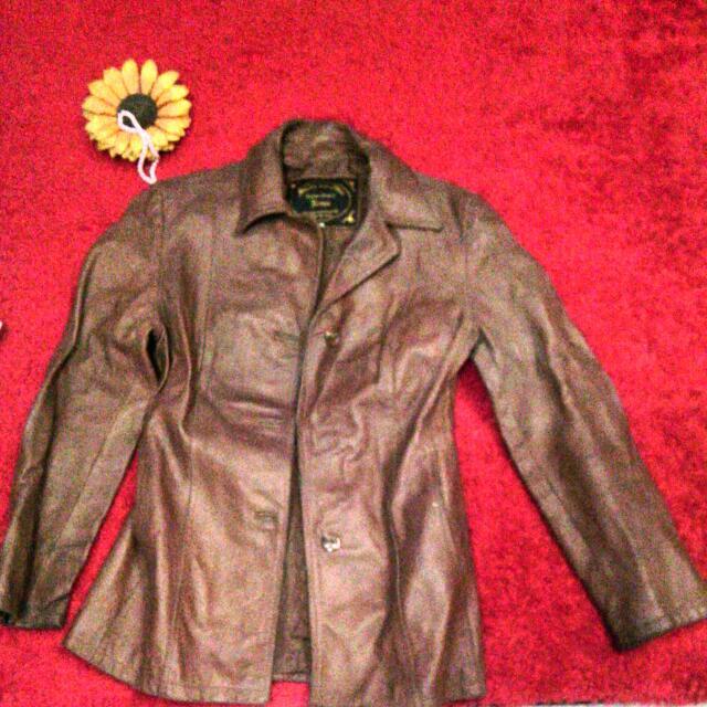 Leather Jacket /jaket Kulit Import Suede & Skin Roma