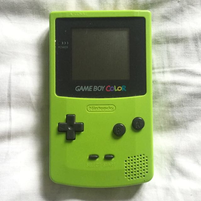 Lime Green GAMEBOY COLOUR