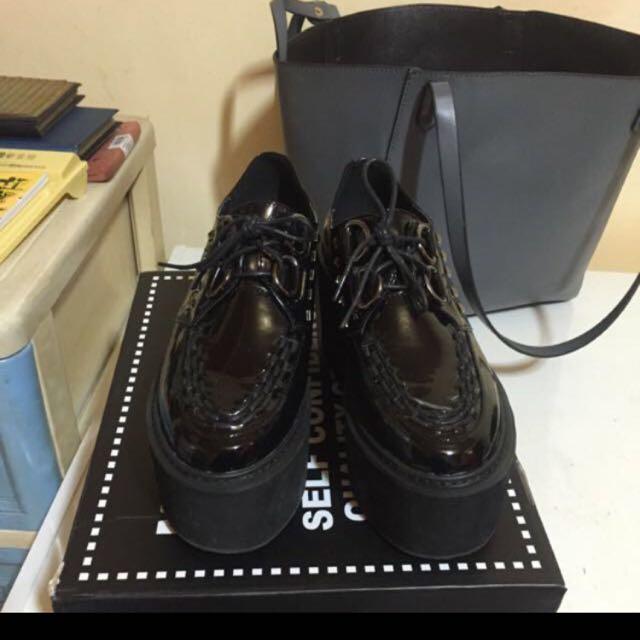 Major 厚底龐克鞋