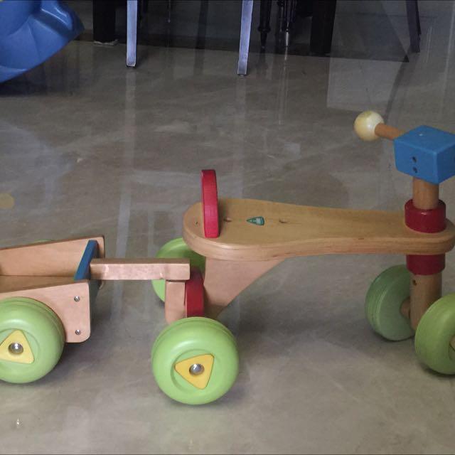 Mothercare Sepeda Kayu