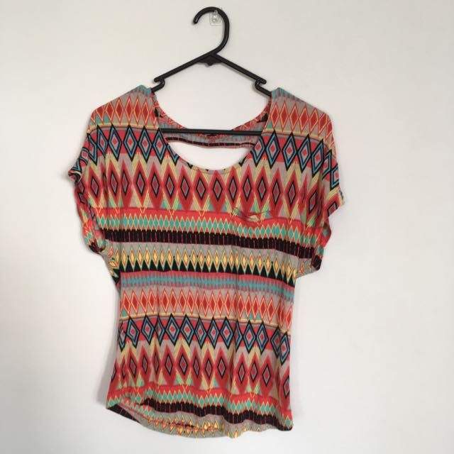 Multicolor Top From Kenji