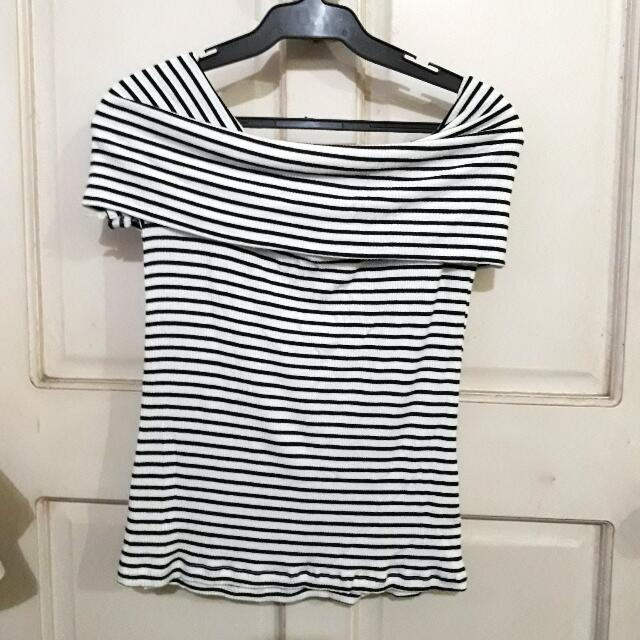 Off Shoulder Tee From HTP