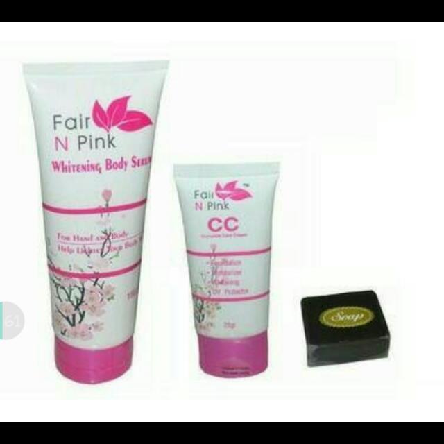 Paket Shining Fair n Pink
