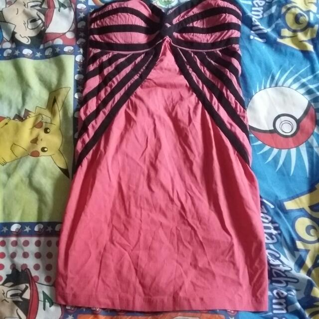 Pink Tight Party Dress Size 10