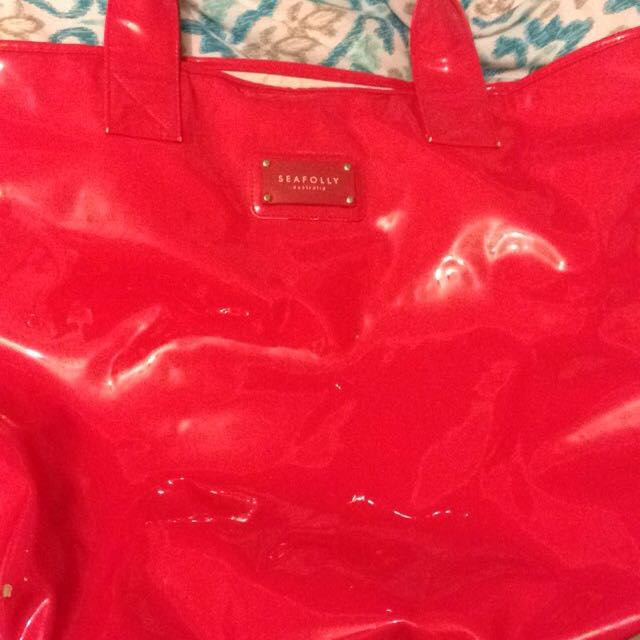 Pink/coral Seafolly Bag