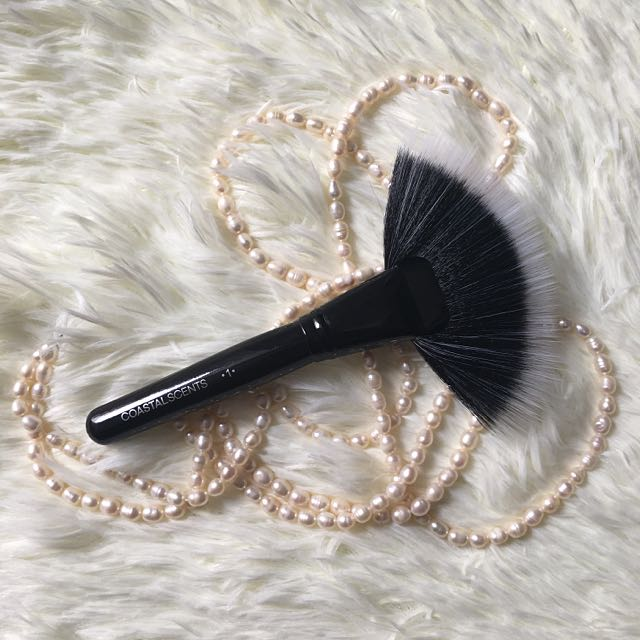 [PRELOVED] Coastal Scents Brush #1 - Large Fan (Synthetic)