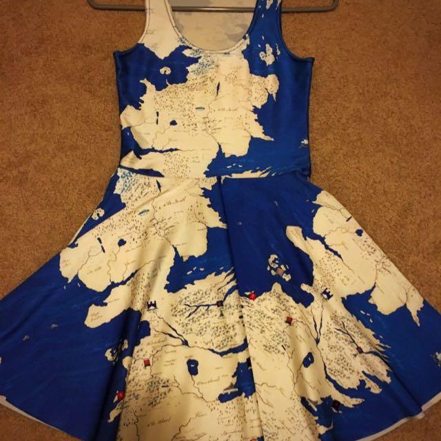 Reversible Westeros Skater Dress