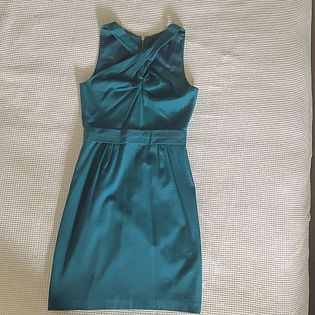 Saba Teal Dress Size 6