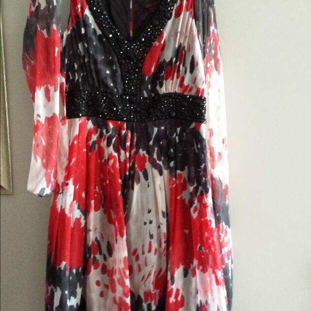 Silk Dress - Size 12