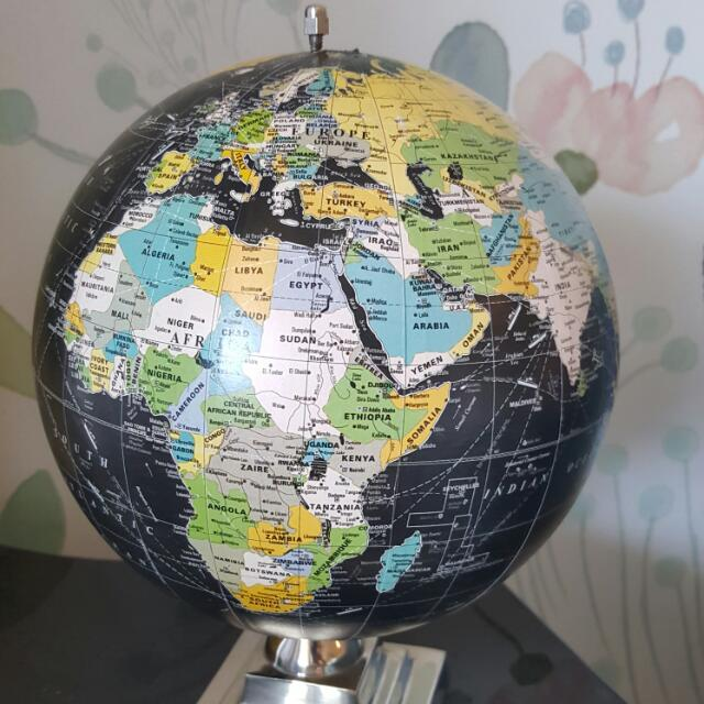 Small Globe From Chapters