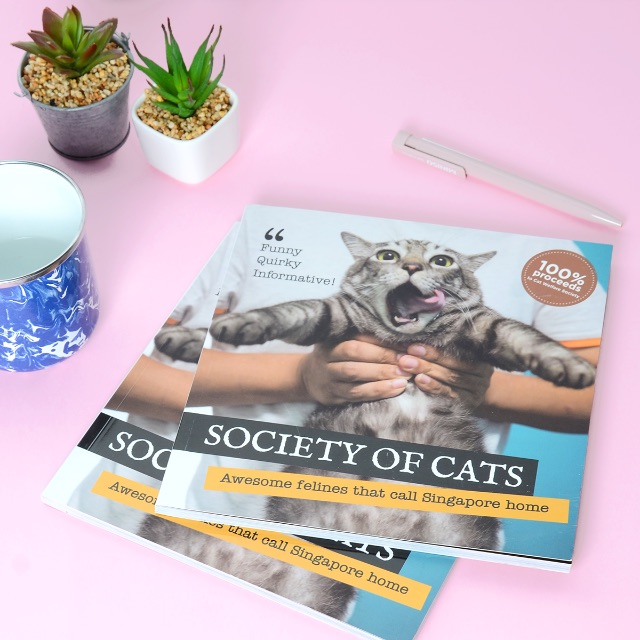 Society of Cats – Commemorative Book About Cats in Singapore