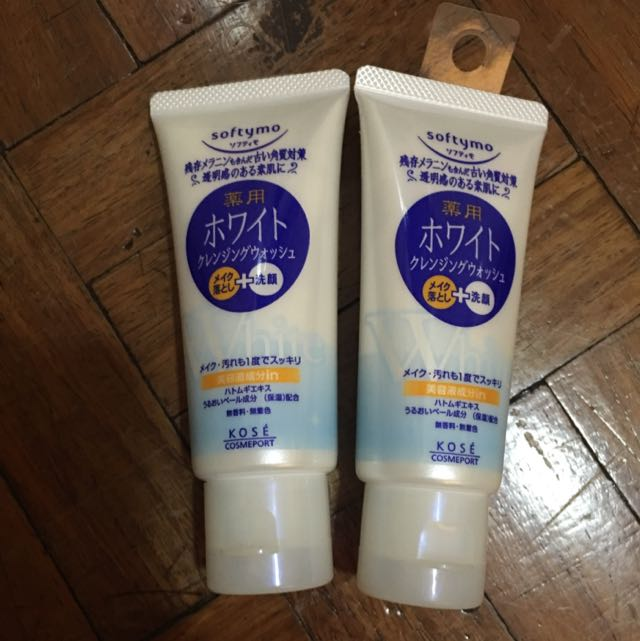 Softymo Facial Wash White