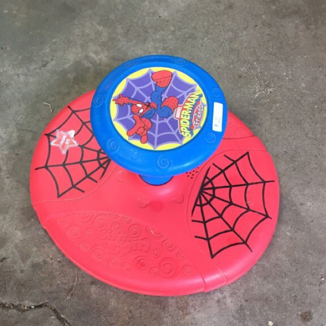 Spider-Man Sit And Spin