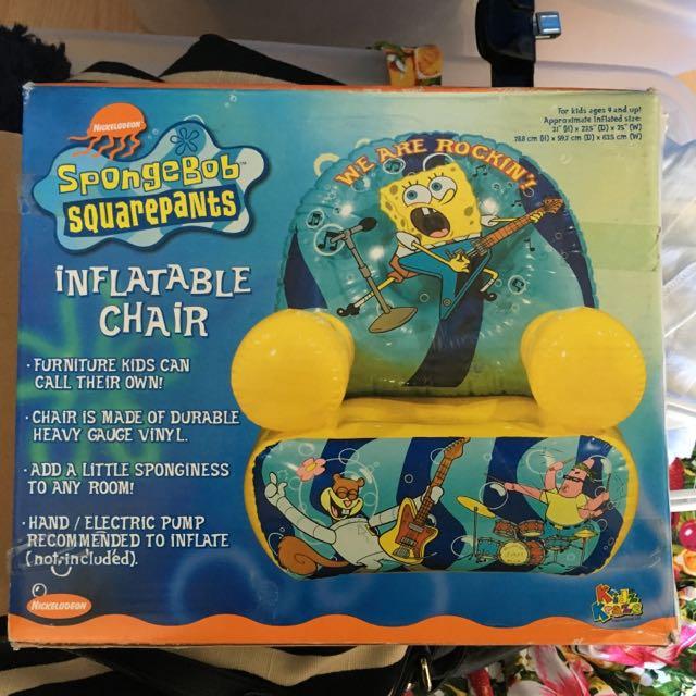 SpongeBob Kids Inflatable Chair