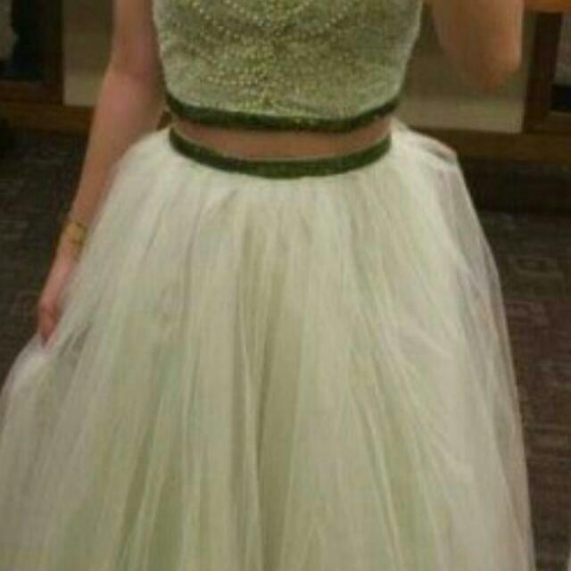 Two-piece Ball Gown