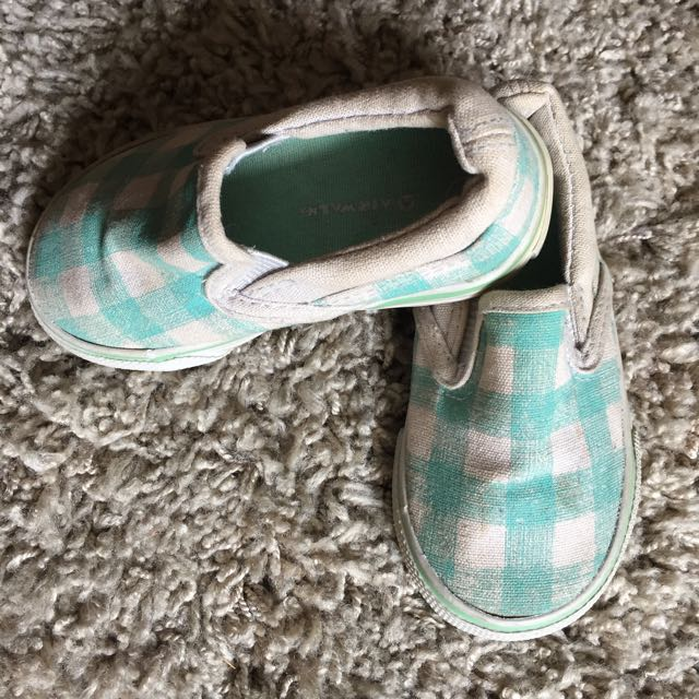 Unisex Teal Shoes