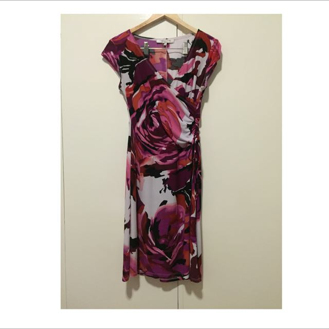 Us Brand Floral Jersey Dress