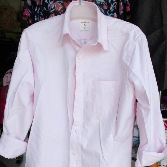 Woman Shirt Pink Fit To L