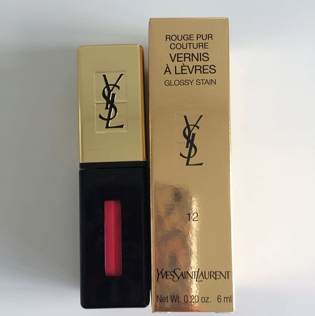 YSL Glossy Stain #12 New *on Hold*