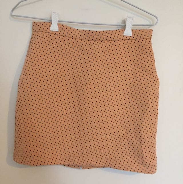 Zara Polka Dot Mini Skirt