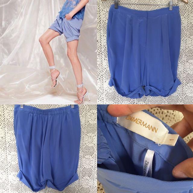 Zimmermann Silk Shorts