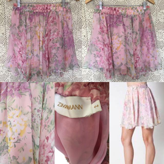 Zimmermann Silk Skirt