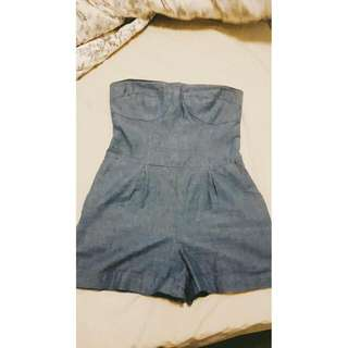 Cite Jean Fabric ROMPER
