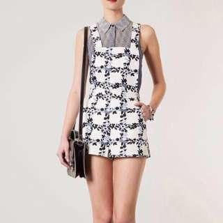 topshop inspired floral jumpsuit