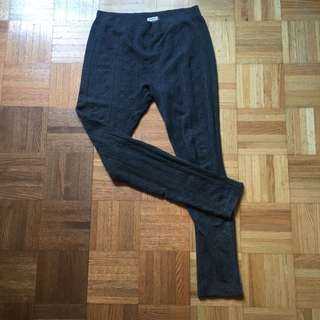 Grey Ardene Leggings L