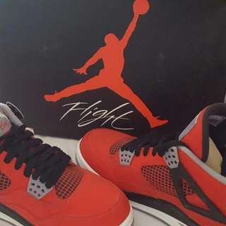 Flight NIKE RED jordan Shoes