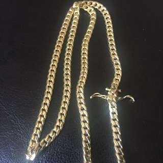 10k Gold Miami Cuban Chain