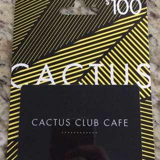 Cactus Club Gift Card