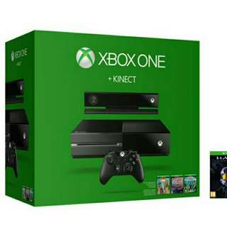 XBOX One 500GB+KINECT (INCLUDE 4 GAMES DIGITAL)