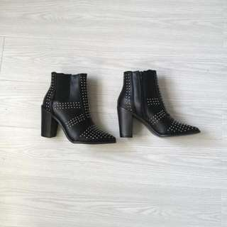 ON HOLD Rubi Shoes Stud Boots