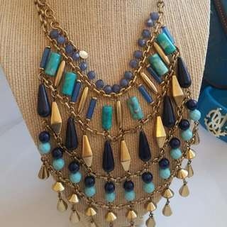 Stella & Dot Bib Necklace