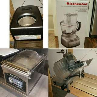 Professional Kitchen Appliences ..icecream Maker And More