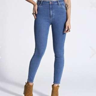 Wrangler High Pins Denim Jeans
