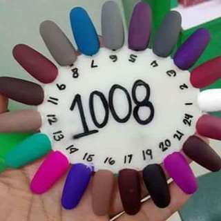 ashley matte nail polish
